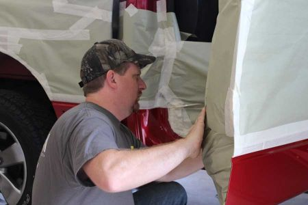 Bedliners How Its Sprayed Mask