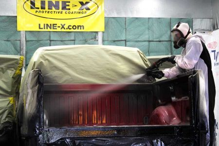 Bedliners How Its Sprayed Application