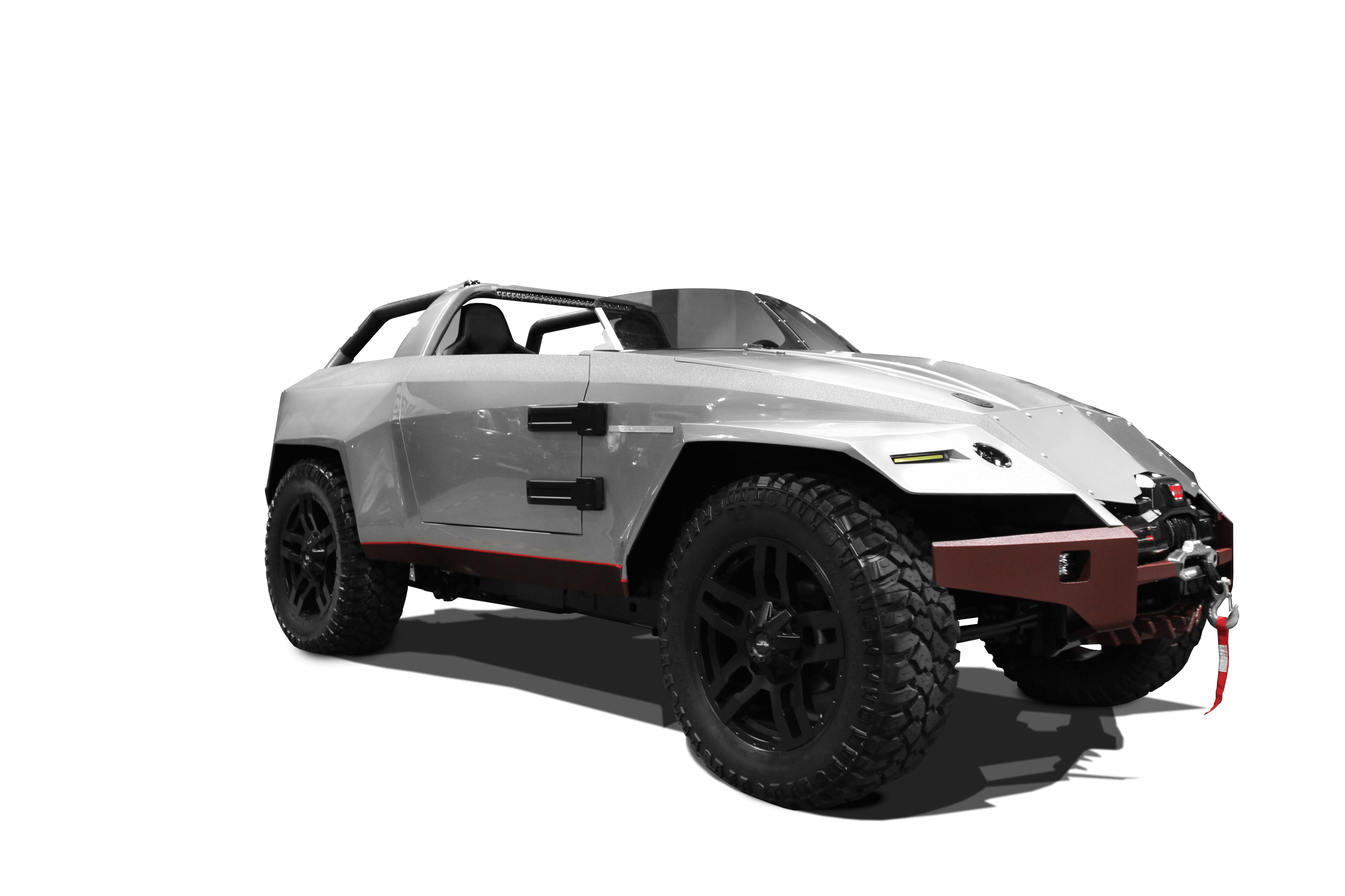Sema15 Concept Car Cut Out Stripe Added