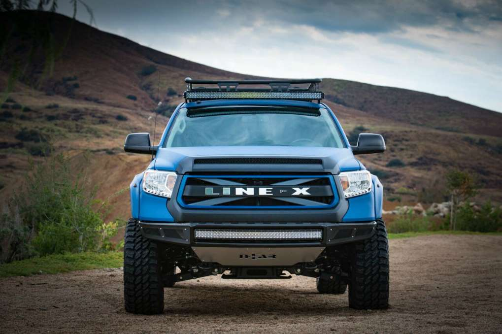 The Tundra Crewmax truck was almost completely fabricated by Kenny Pfitzer  \u2013 the former build master and design brainpower behind world famous custom